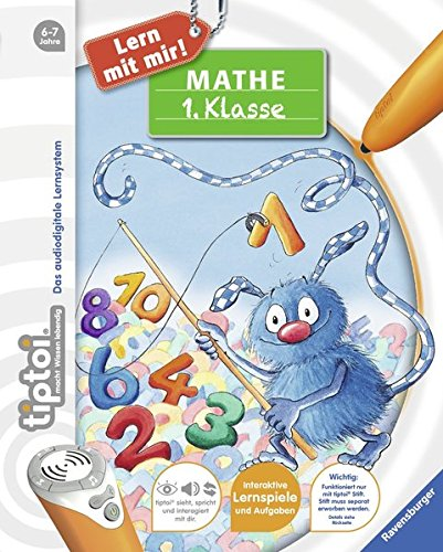 Preisvergleich Produktbild tiptoi® Mathe 1. Klasse (tiptoi® Lern mit mir!)