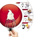Moulinex-QA502GB1-Robot-Ptissier-Master-Chef-Gourmet-Rouge-et-BlenderRper-Trancher-900W