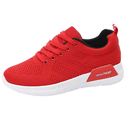 LuckyGirls Basket Mode Femme Fille Anti-dérapage Course Running Sneakers Lacets Fitness Gym Respirants Chaussures de Sport Outdoor Confortables Et Respirants