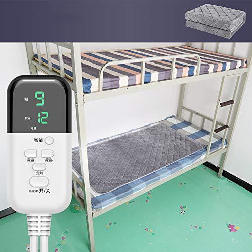 Qwqqaq Suave Manta Eléctrica Térmica con 9 Niveles De Calefacción,Reduce El Consumo De Energía Reversible...
