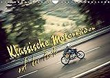 Klassische Motorräder auf der Piste (Wandkalender 2019 DIN A4 quer): Klassische Motorräder der 30er bis 70er Jahre in Action! (Monatskalender, 14 Seiten ) (CALVENDO Mobilitaet)