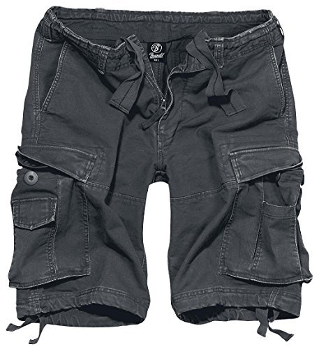 Brandit Vintage Short Anthrazit L (Army-cargo-shorts)