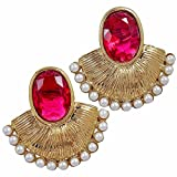 Maayra Copper Dangle & Drop Earrings for...