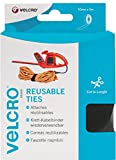 VELCRO Brand Correas reutilizables 30mm x 5m Negro