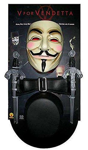 �m Kit (V For Vendetta Perücke Und Hut)