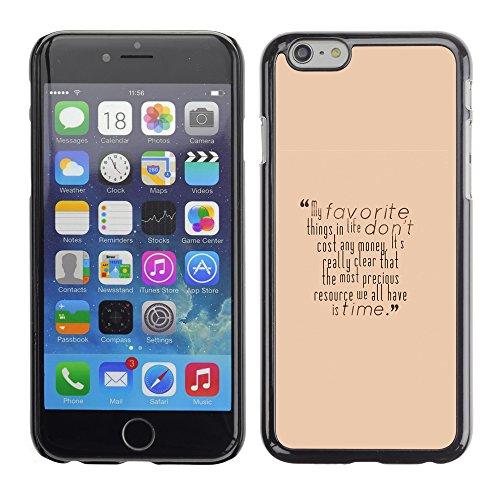 Graphic4You Dont Settle Love Englisch Zitat Nachricht Harte Hülle Case Tasche Schutzhülle für Apple iPhone 6 / 6S Design #13