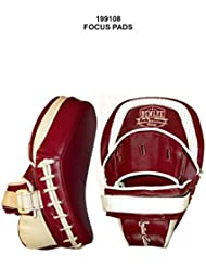 Benlee Matthews Leather Focus Pads – Wine Red Rojo rojo