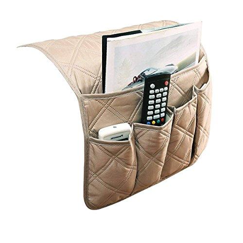 Organizador de reposabrazos JINTN, para sofá, organizador de escritorio, para colocar el mando a distancia, el teléfono o libros y mantener todo organizado