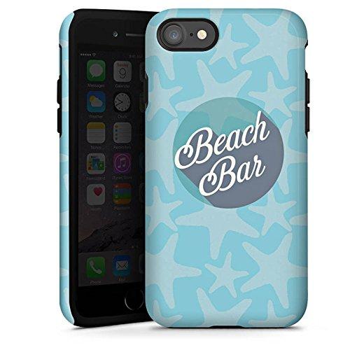 Apple iPhone X Silikon Hülle Case Schutzhülle Strand Urlaub sommer Tough Case glänzend