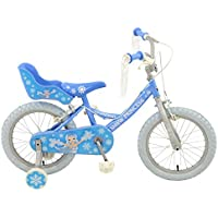 Townsend Girl Snow Princess Rigid Bike, Blue, 16-Inch