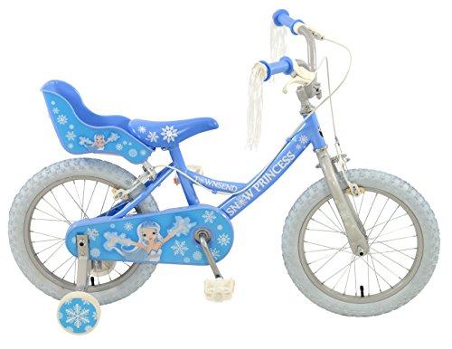 Townsend Girl Snow Princess Rigid Bike Blue 16-inch