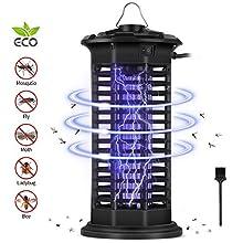 Zanzariera Elettrica, Antizanzare Lampada con Luce UV, Attira Fortemente Le Zanzare, Non Contiene Sostanze Chimiche, Area Effettiva di 35 Metri Quadrati per Casa Giardino Interno Esterno