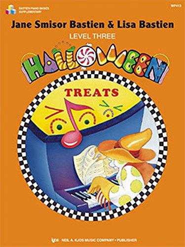 Bastien Halloween Treats Level 3 (Bastien): Noten für Klavier