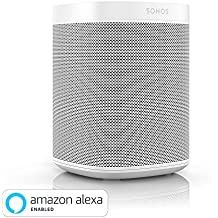 Sonos One (Gen 2) - The powerful Smart Speaker with Amazon Alexa Built-in, White