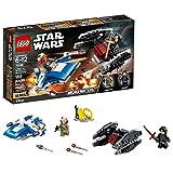 LEGO Star Wars: The Last JediA-Wing vs. Tie 75196 Silencer...