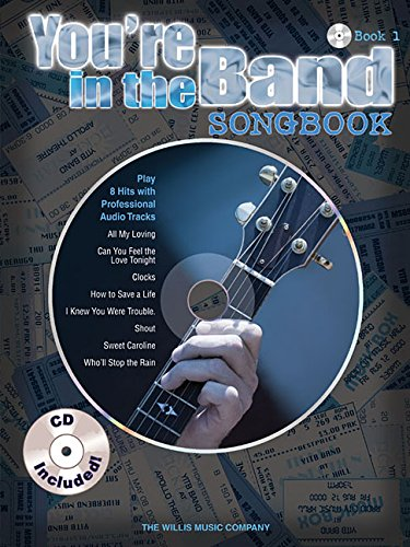 You're in the band - songbook 1 guitare+CD (You're in the Band Songbooks)