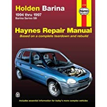 Holden Barina (94 - 97): 1994 to 1997 (Haynes Automotive Repair Manuals)