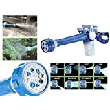 Shree-Hari Ez Jet Water Cannon 8 In 1 Turbo Water Spray Gun For Gardening, Car Wash, Home Cleaning