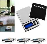 Imountek [1000G/0.1g bilancia da cucina digitale di alta precisione display LCD] []. 6diverse misure/spegnimento automatico, sovrappeso/Low Power alert- pesatura monete/gioielli/oggetti di piccole dimensioni/oro/food. Custodia gratuita