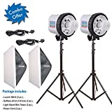 #6: Lucent 300-D Double Kit / Wedding Photography / Studio Flash Light Kit / Photographic Lighting / Photographic Photo Studio Lighting Kit / Professional Photography Studio Equipment Kit