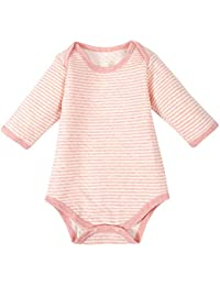 Jiajia recién nacido bebé alta calidad algodón Pelele de manga larga Onesies Sleeper