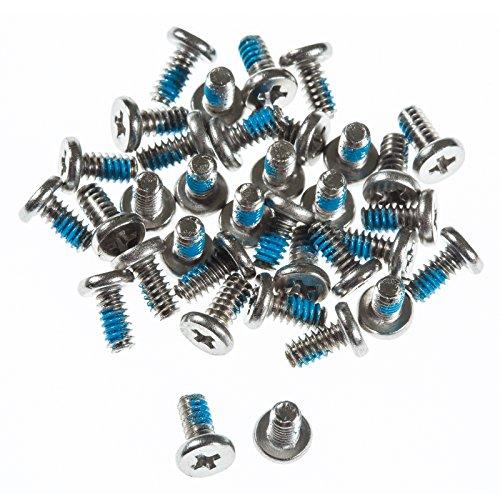 POPPSTAR Festplattenschrauben für 3,5 Zoll Festplatten, M3x7mm, Silber, 50er Set
