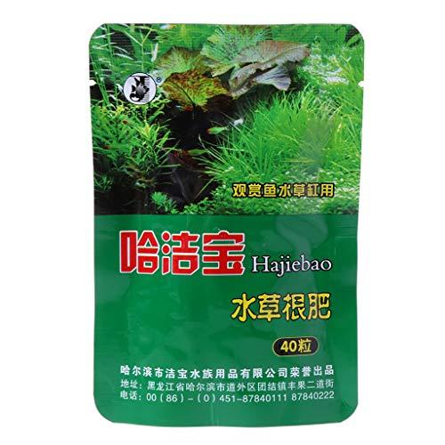BouT Dünger für Wasserpflanzen, kondensiertes Aquarium, Zylinder, 40 Stück