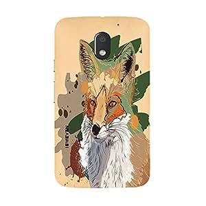 iSweven Master design printed matte finish multi-colored back case cover for Motorola Moto E3
