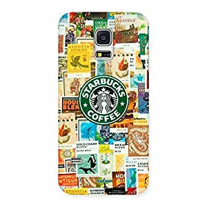 Coffee SB Multicolor Back Case Cover for Galaxy S5 Mini