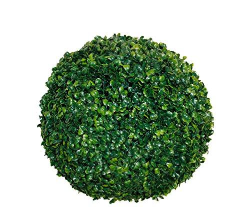 Buchsbaumkugel grün – Ø 20cm – Garten Deko Buchsbaum Kugel künstlich Buchskugel