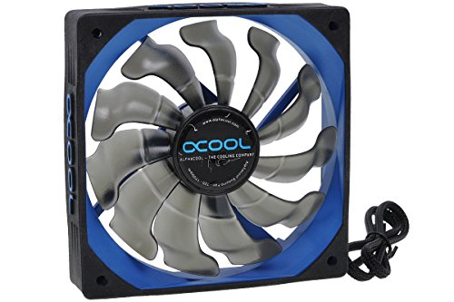 Alphacool 24684 Susurro Fan - 120 - Black/Blue Edition - 1700rpm (120x120x25mm) Luftkühlung Lüfter