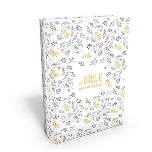 Bible Segond 21 : Journal de bord, couverture Vivella avec motifs par Collectif