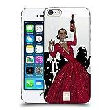 Head Case Designs Schwarze Frau In Einem Roten Kleid Wein Fest Ruckseite Hülle für iPhone 5 iPhone 5s iPhone SE