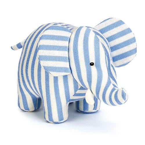 Soft Toys Jellycat-Peluche elefante carillon, ELLIOT, 16 cm, colore: blu