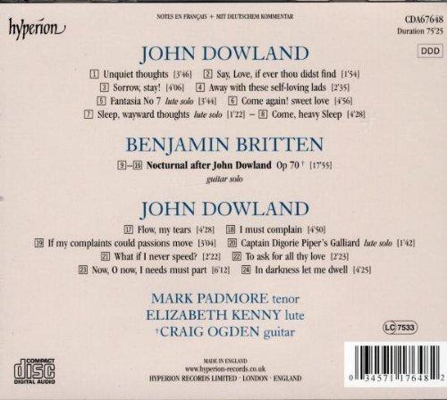 John dowland - benjamin britten