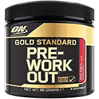 Optimum Nutrition Gold Standard Pre-Workout, Fruit Punch, 8 Serve Tub