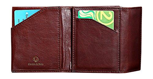 Cronus & Rhea | Luxus Geldbörse mit Münzfach aus exklusivem Leder (Demeter) | Geldbeutel -...