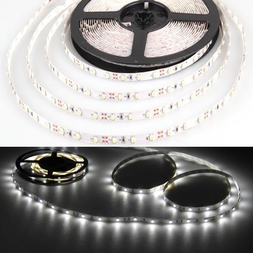 Easy Provider® 10m Tira LED 600 x 3528 SMD Blanco frio Strip flexible coche