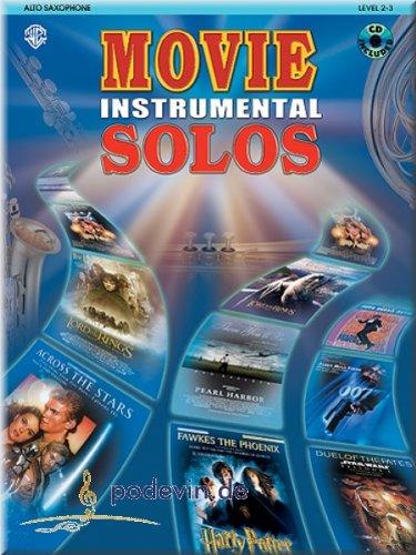 Movie Instrumental Solos Alto Saxophone - Altsaxophon Noten [Musiknoten] (Wars-saxophon Star)