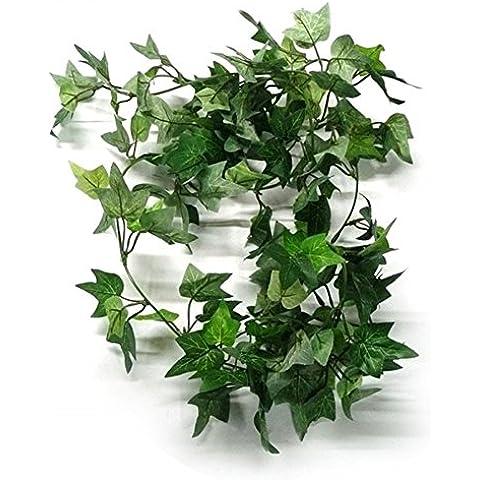 Winever 6ft seta artificiale Ivy ghirlande di nozze decorazioni per la casa