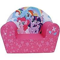 FUN HOUSE 712518 My Little Pony Fauteuil Club en Mousse pour Enfant Polyester 52 x 33 x 42 cm