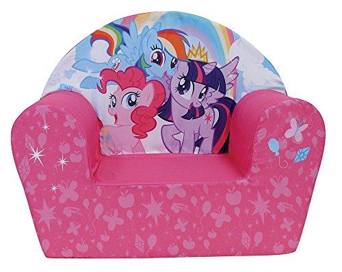 Prix FUN HOUSE 712518 My Little Pony Fauteuil Club en Mousse pour Enfant Polyester 52 x 33 x 42 cm