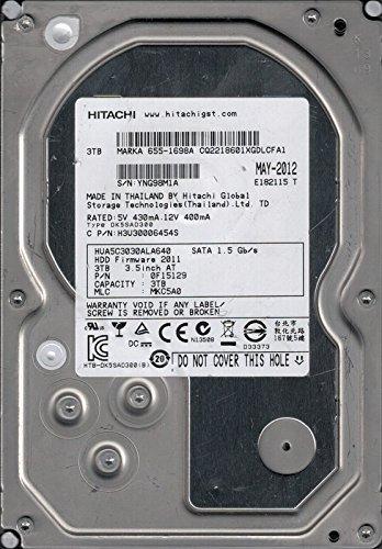 Preisvergleich Produktbild hua5C3030ala640P/N: 0F15129MLC: mkc5a0Mac 655–1698A Hitachi 3TB