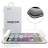 Ganvol 3D Touch Compatible Pellicola Protettiva in Vetro Temperato Ultraresistente per Apple iPhone 6 / 6S, Bianca  Protezione completa La protezione dello schermo di vetro protegge l...