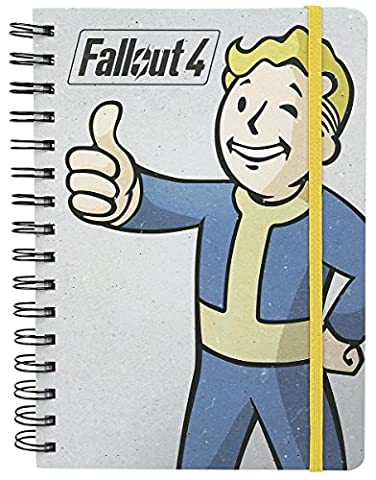 GB eye LTD, Fallout 4, Vault Boy, Cahier A5