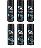 6* Adidas Deospray Deo Bodyspray 150ml A3 Fresh Men 6*150ml