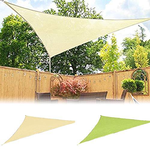 Sguan-wu Triángulo Sun Shelter Protección para sombrillas Techo al Aire Libre Jardín...