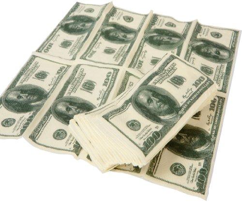 """GreatGadgets 1543 Taschentücher """"US Dollar"""" (1 Päckchen = 10 Taschentücher)"""