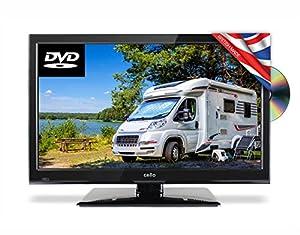 Cello C22230F-Traveller 22-Inch Full HD Traveller 12 V TV with DVD and Satellite Tuner - Black