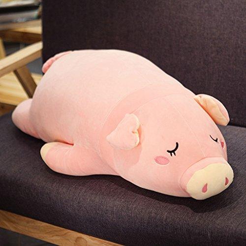 CHENGYI Niedliche Cartoon Snooze Schweine unten Baumwolle lange Kissen Büro Kissen Student Geschenk ( größe : 90cm )